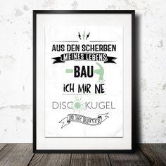 AUS DEN SCHERBEN MEINES LEBENS... / ALLE FARBEN / von InkDrip auf DaWanda.com