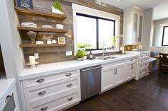 The Stone Shop Kitchen Barnwood Farmhouse Quartz Vicostone Ankeny, IA Travertine, New Builds, Barn Wood, Double Vanity, Granite, Your Design, Indoor, Stone, Kitchen
