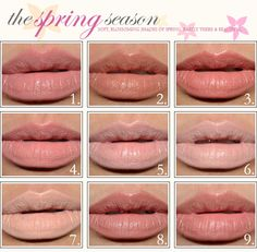 Nude Lipstick        1. Benefit Lady's Choice Lipstick     2.Guerlain Beige Mousseline Lipstick      3. Guerlain Galia Rouge G Lipstick      4. Korres #13 Natural Pink Guava       5. MAC Creme d'Nude Lipstick    6. MAC Fleshpot Lipstick     7. MAC Myth Lipstick      8. MAC Velvet Teddy Lipstick      9. Smashbox Charming Lipstick