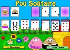 PouJuegos.com - Juego: Pou Solitaire - Jugar Juegos Gratis Online Flash