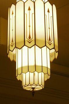 Art Decó ~ 1930's Chandelier                                                                                                                                                                                 More