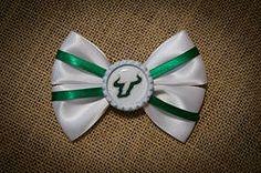USF Bulls Hairbow