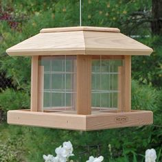Heath Cedar Gazebo Bird Feeder