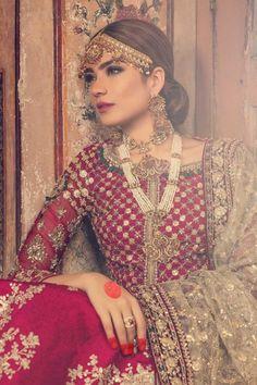 Shadi Dresses, Pakistani Formal Dresses, Pakistani Bridal Lehenga, Wedding Lehnga, Walima, Punjabi Wedding, Maria B Bridal, Indian Bridal Outfits, Wedding Outfits