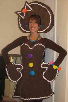 Make Lebkuchemann costume yourself Costume idea for Christmas, Carnival, Halloween & Mardi Gras Costume Halloween, Shrek Costume, Xmas Costumes, Adult Halloween Party, Halloween Party Decor, Diy Costumes, Costumes For Women, Costume Ideas, Group Costumes