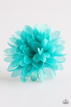 cec9faf66cbc0 Paparazzi Nothing BUD Trouble - Blue Hair Bow Clip