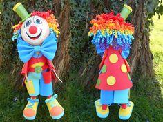 FOFUCHA CLOWN : Il est drôle et plein de bonne humeur ! Voici les étapes de fabrication d'un clown fofucha.