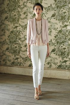 Ruffled Calin Blazer - Anthropologie.com #ruffles on ruffles!