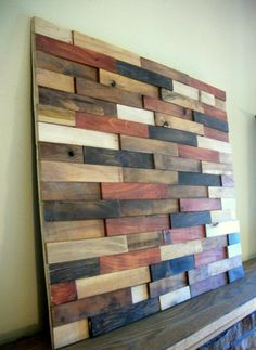 Reclaimed Rustic Wooden Wall Art  Wood Wall Art by TheHickoryTree