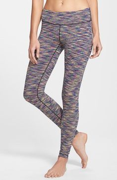 Ya, I bought these the day they came out! :) Zella 'Live In' Cosmic Space Dye Reversible Leggings available at #Nordstrom