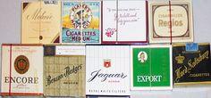 -Rare- Sealed -Flat Box- Vintage Cigarette Display Pack Lot #4 - NOS | eBay