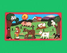 Handgefertigtes Holz-Puzzle mit wunderschönem Motiv für Kinder Family Guy, Fictional Characters, Art, Country, Gifts, Kids, Nice Asses, Art Background, Kunst