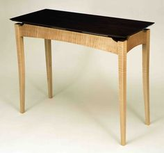 Hall/Sofa Table Click visit link above to read Entry Furniture, Walnut Furniture, Shaker Furniture, Fine Furniture, Furniture Plans, Furniture Design, Woodworking Furniture, Modern Furniture, Fine Woodworking