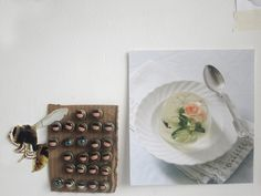 notice: rose in clear gelatin Jessie J, Gelatin, Art Director, Dream Life, Holiday Decor, Wallpaper, Rose, Flowers, Projects