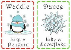 Family is Friendship: Christmas Action Cards