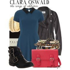 """""""Clara Oswald -- Doctor Who (The Rings of Akhaten)"""" by evil-laugh on Polyvore"""