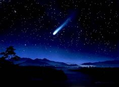 Sign of Divinity reminding people existence of higher life    Good Omen    shooting star - Google Search