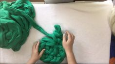 How to arm crochet a cat bed. BeCozi