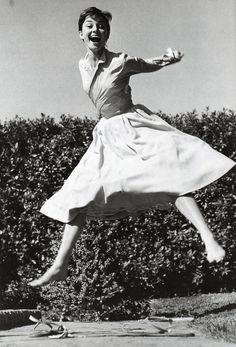 Audrey jumped. | 35 Magical Moments Captured With A Camera