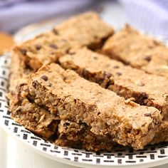 {VIDEO} Peanut Butter Granola Bars | The Healthy Maven | Bloglovin'