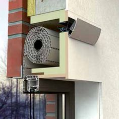 Renson Fabrications Roller shutter ventilator