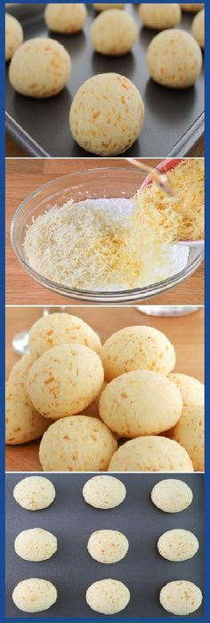 PAN de Yuca o PAN de queso - Recipes, tips and everything related to cooking for any level of chef. Mexican Food Recipes, Dessert Recipes, Bread Recipes, Cooking Recipes, Colombian Food, Salty Foods, Pan Dulce, Pan Bread, Empanadas