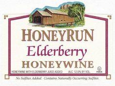 NV HoneyRun Winery Elderberry Honeywine 750 mL Wine