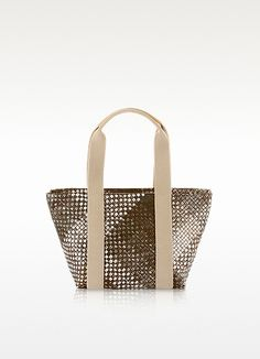 Lamai Medium Printed Nylon Tote - Francesco Biasia