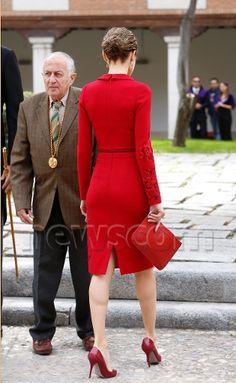 Queen Letizia 23 Apr 2015 - Cervantes Award 2014.