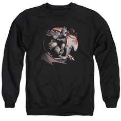 """Checkout our #LicensedGear products FREE SHIPPING + 10% OFF Coupon Code """"Official"""" Arkham City / Blood Moon - Adult Crewneck Sweatshirt - Arkham City / Blood Moon - Adult Crewneck Sweatshirt - Price: $39.99. Buy now at https://officiallylicensedgear.com/arkham-city-blood-moon-adult-crewneck-sweatshirt"""