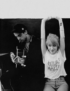 Hayley and Taylor | Paramore