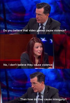 Stephen Colbert Nails It