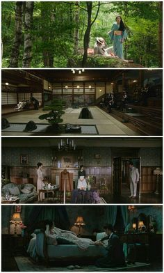 10 Astonishing Movies That Will Make You Change Your Mind About Life. Scenes from the movie The Handmaiden. Cinematic Photography, Film Photography, Cinematic Lighting, Posters Vintage, Cinema Movies, Indie Movies, Movie Screenshots, Light Film, Movie Shots