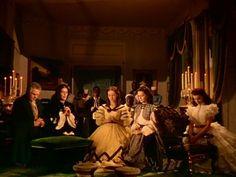 """""""Gone With the Wind"""": Vivien Leigh/Scarlett O'Hara, Olivia De Havilland/Melanie Wilkes, Leslie Howard/Ashley Wilkes & Clark Gable/Rhett Butler"""