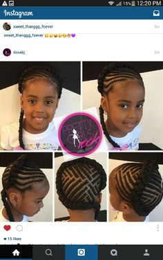 I'd change the design in the back but I love the crown braid.