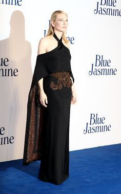 Cate Blanchett x Givenchy Haute Couture: Blue Jasmine, Black Gown