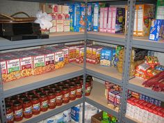 Easy way to build up food storage, coupon, etc.