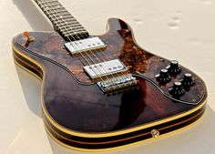 2011 rosewood Telecaster Deluxe copy built by Pavel Maslowiec. See…