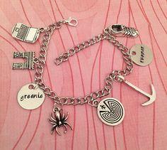 Maze Runner Inspired Charm Bracelet Fandom by LulusStampings
