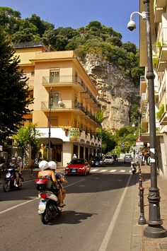 Sorrento, Italy- The Hotel I stayed at!!!!!!!! How fun :)