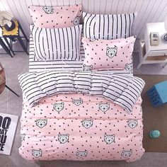 *New* Pink Panther Bed Set
