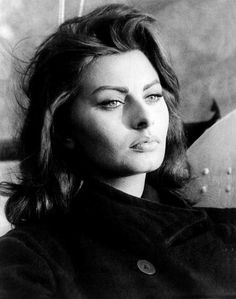 """Nothing makes a woman more beautiful than the belief that she is beautiful."" -Sophia Loren"