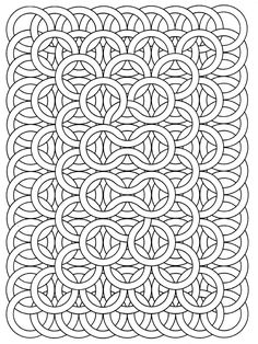 Free coloring page A good exemple of Op Art drawing, by Jean Larcher Make your world more colorful with free printable coloring pages from italks. Our free coloring pages for adults and kids. Geometric Coloring Pages, Detailed Coloring Pages, Pattern Coloring Pages, Printable Adult Coloring Pages, Mandala Coloring Pages, Coloring Pages To Print, Free Coloring Pages, Coloring Books, Coloring Sheets
