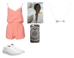 """I rushed so it's bad"" by noemyynoemyy ❤ liked on Polyvore featuring NLY Trend, Converse and Adina Reyter"