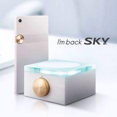 SKY smartphone [i'm back] design