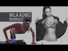 The Mila Kunis Workout - YouTube