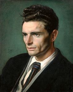 Portrait of men...