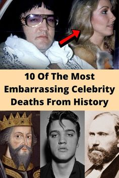 10 Of The Most Embarrassing Celebrity Deaths From History