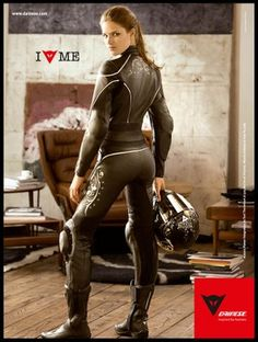 Gotta have leathers for the bike - Dainese for women
