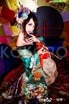 妖艶な花魁 Oiran